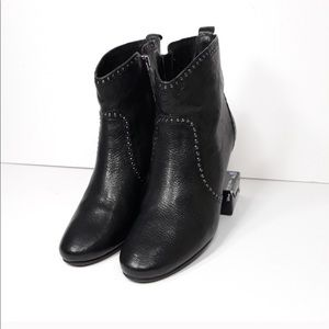 Anthropologie Aerin Tipton Leather Booties 7